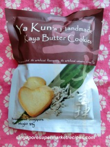 Ya Kun Kaya Cookies
