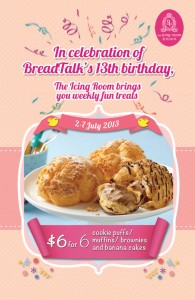 breadtalk icing room 13th birthday