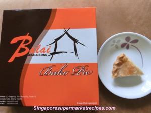 philippines coconut pie