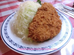 rengatei ginza western japanese deep fried pork chop