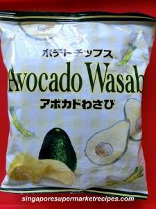 avocado wasabi chips