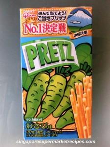 wasabi pretz
