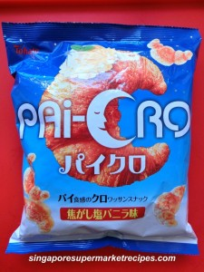 crossiant snacks from daiso