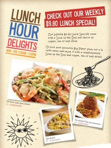 NYDC set lunch specials