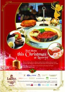 lawry christmas menu 2013