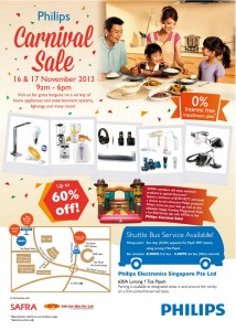 philips carnival sale 2013