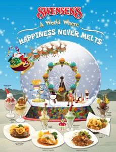 swensens christmas festive dining promotions 2013