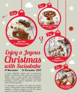 swissbake christmas goodies promotions 2013