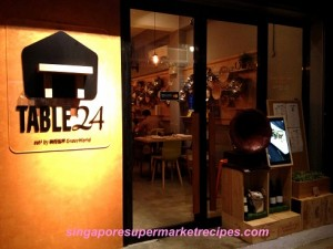 Table 24 restaurant reviews