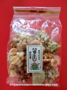 sweet nutty rice crackers from asakusa japan