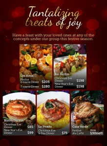 les amis christmas promotions 2013