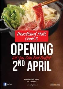 heartland mall sukiya opening special