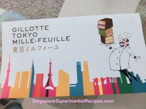 Gillotte Tokyo  Mille Feuille