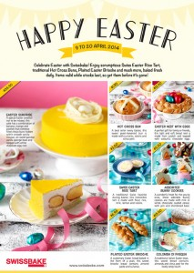 Swissbake easter promotions 2014