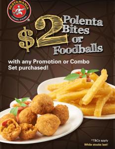 pasta mania $2 bites promotions
