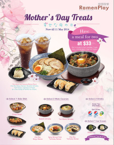 ramen play mother's day dining promotions 2014