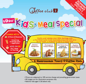 Coffee Club Kids Meal Spevial