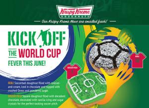 Krispy Kreme world cup promotions