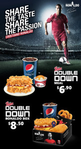 kfc new world cup meal