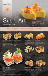 ichiban boshi creative sushi promotions