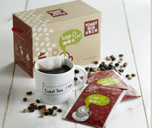 toast box kopi o instant sachet pack